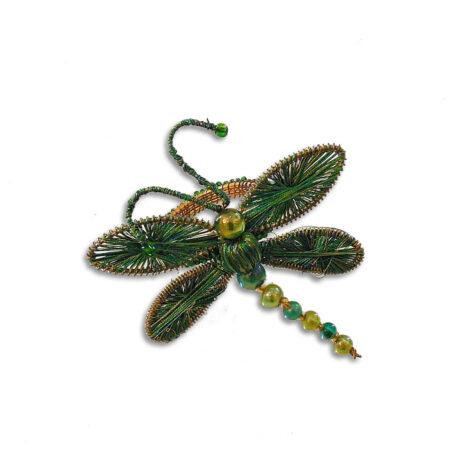 Anel de Guardanapo Borboleta Verde